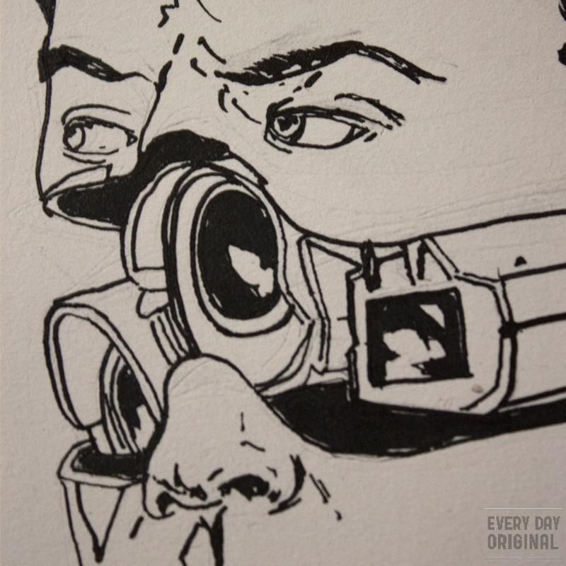 Camera Head by Ryan Hanson