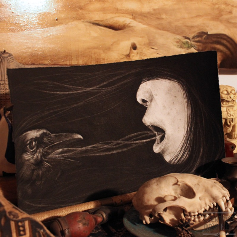 (A) Murder of Crows - Speaking in Tongues by Stephanie Inagaki