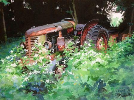 11 x 14 watercolor on watercolor paper_ronlemen