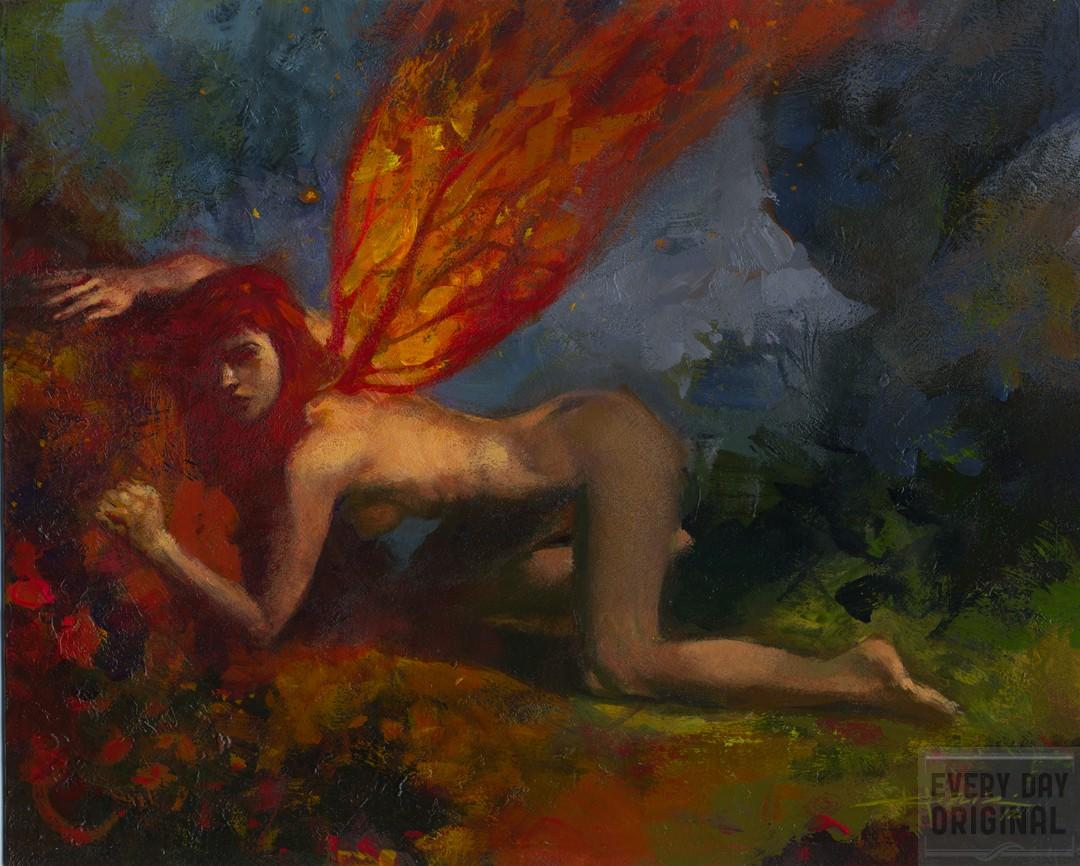 chris moeller oil painting
