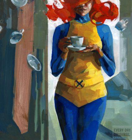 Marvel Girl by Kwanchai Moriya