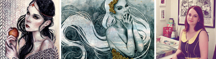 artist interview Kelly Mckernan