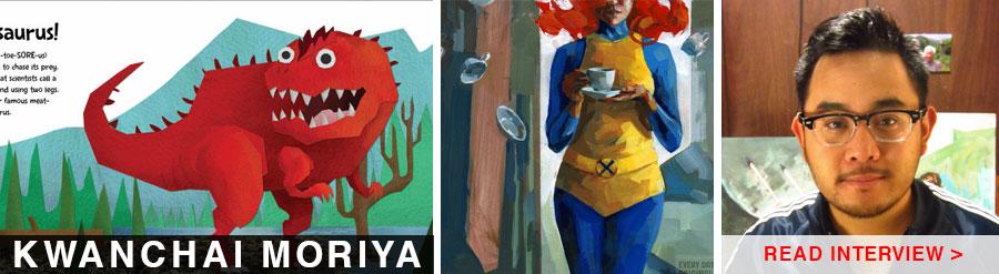 artist interview kwanchai moriya