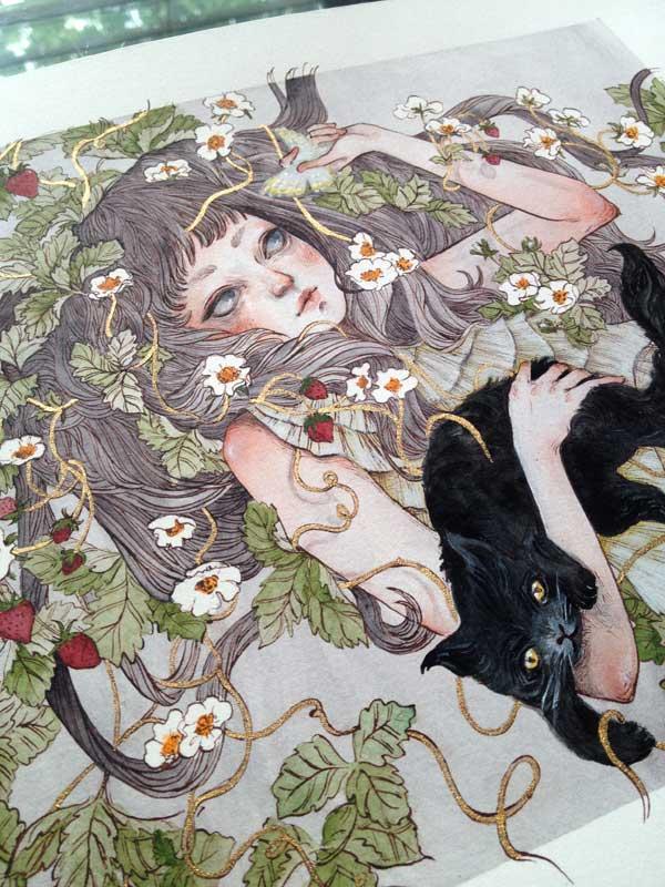 Daria Theodora -strawberry