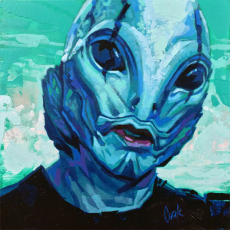 Abe Sapien by Bud Cook