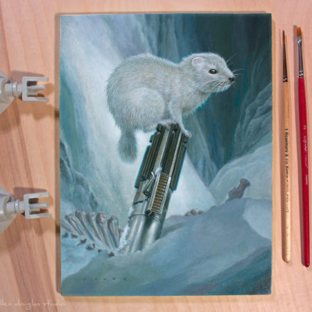 Frosted Polecat painting