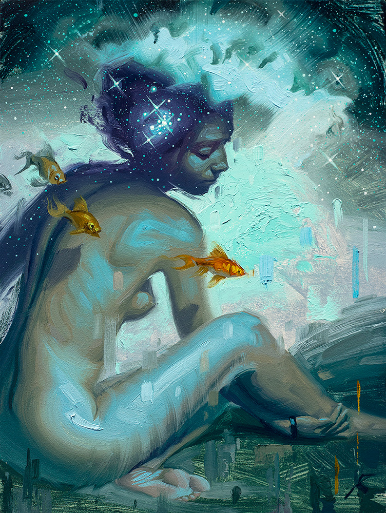 Cosmic Ocean by Rob Rey