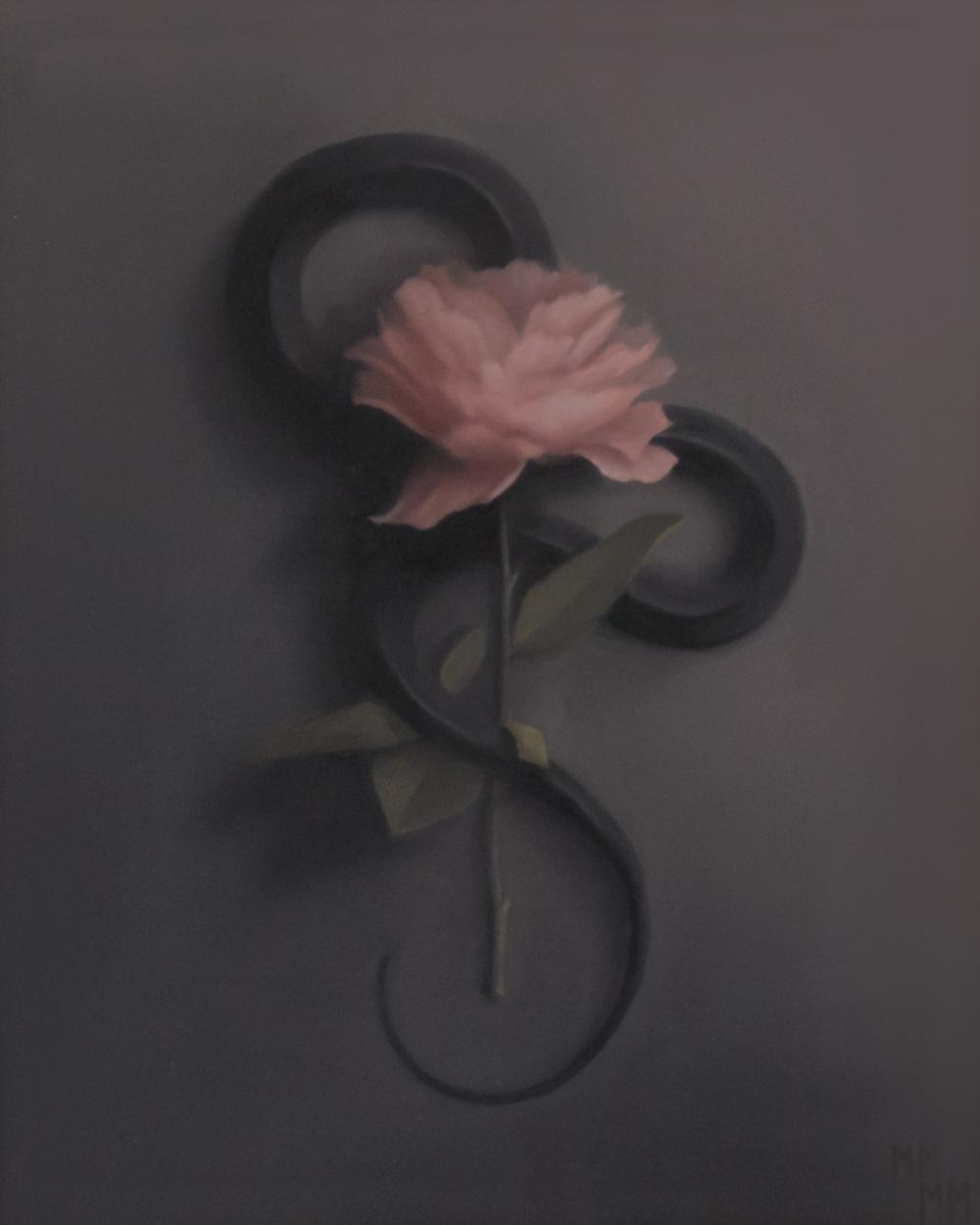 An original oil painting by Miranda Meeks.