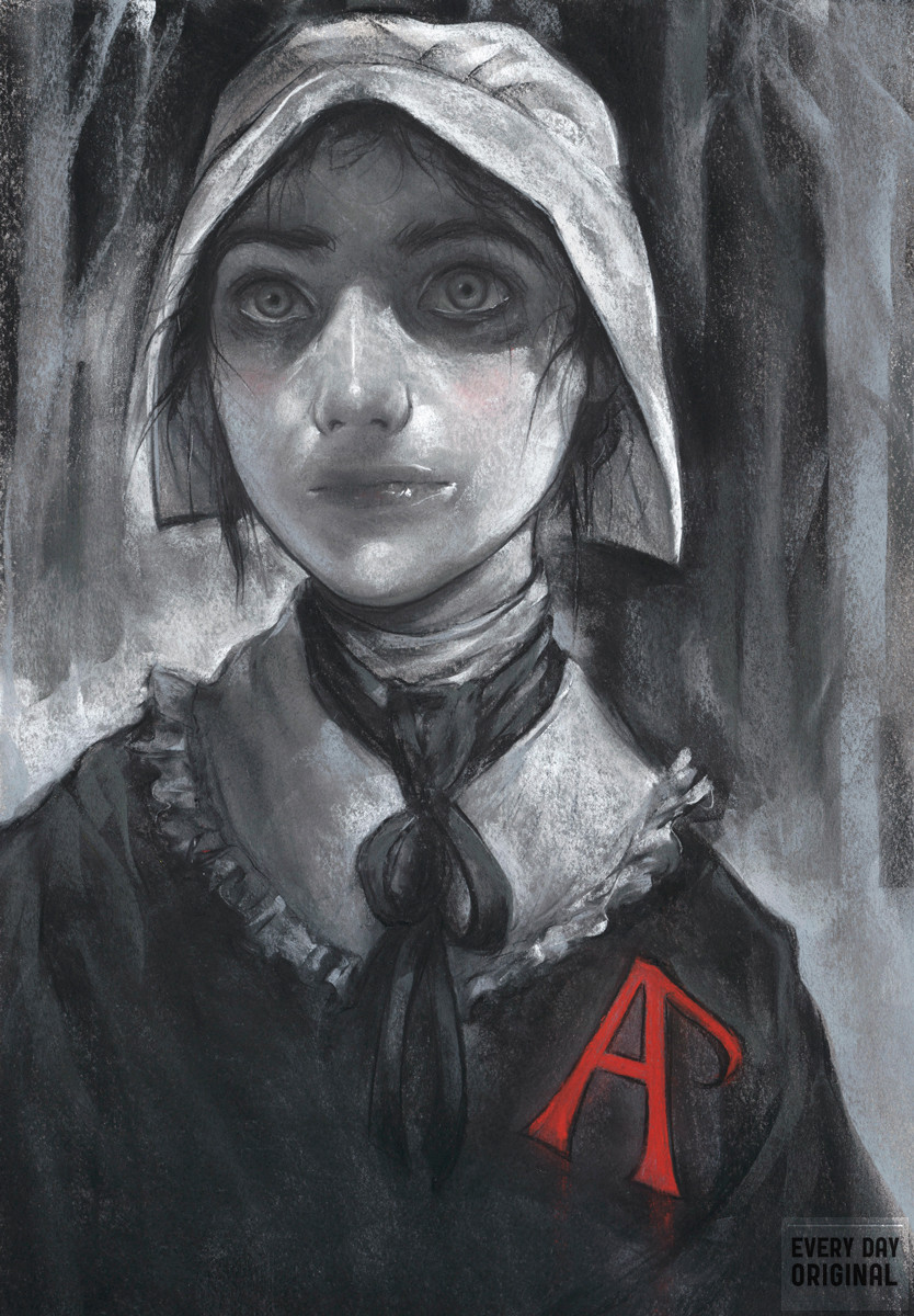 scarlet letter hester prynee The scarlet letter is packed full of symbols and themes generally speaking, everything, from the colors of characters' dress, to the shades of light in which they walk hester prynne's shame is publically known.