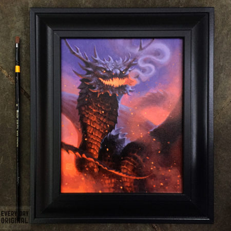Dragon 23 framed