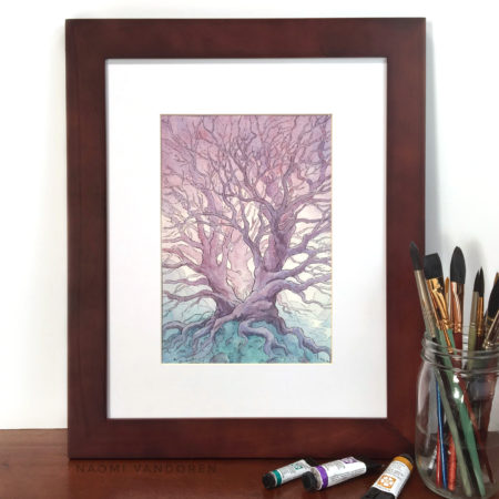 Magic's-Resting-Place-Naomi-VanDoren-Framed-Watercolor-Painting-web1400-1