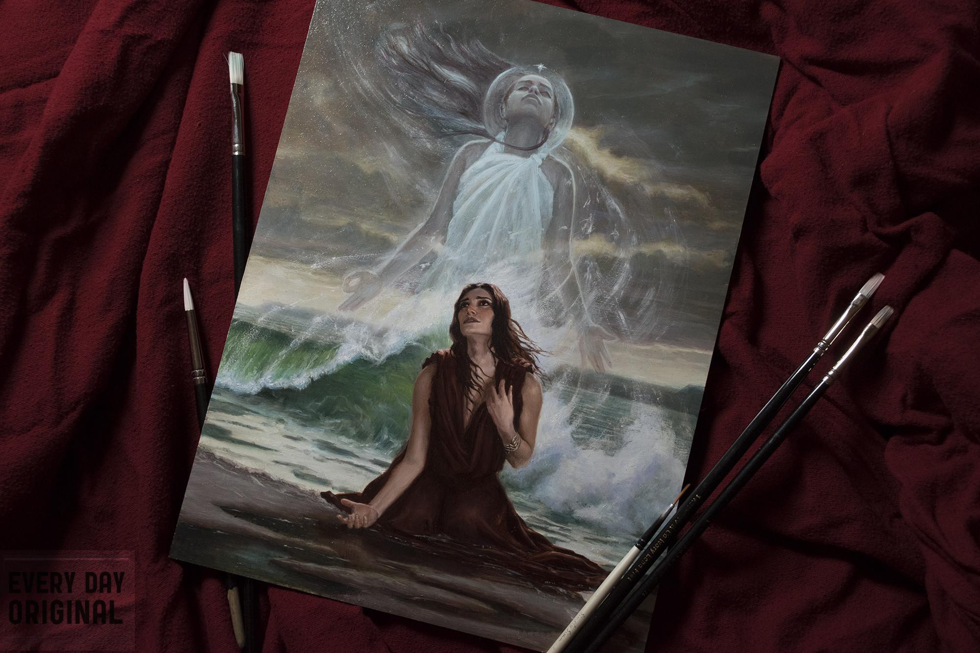 Oil Painting by Nicholas Elias