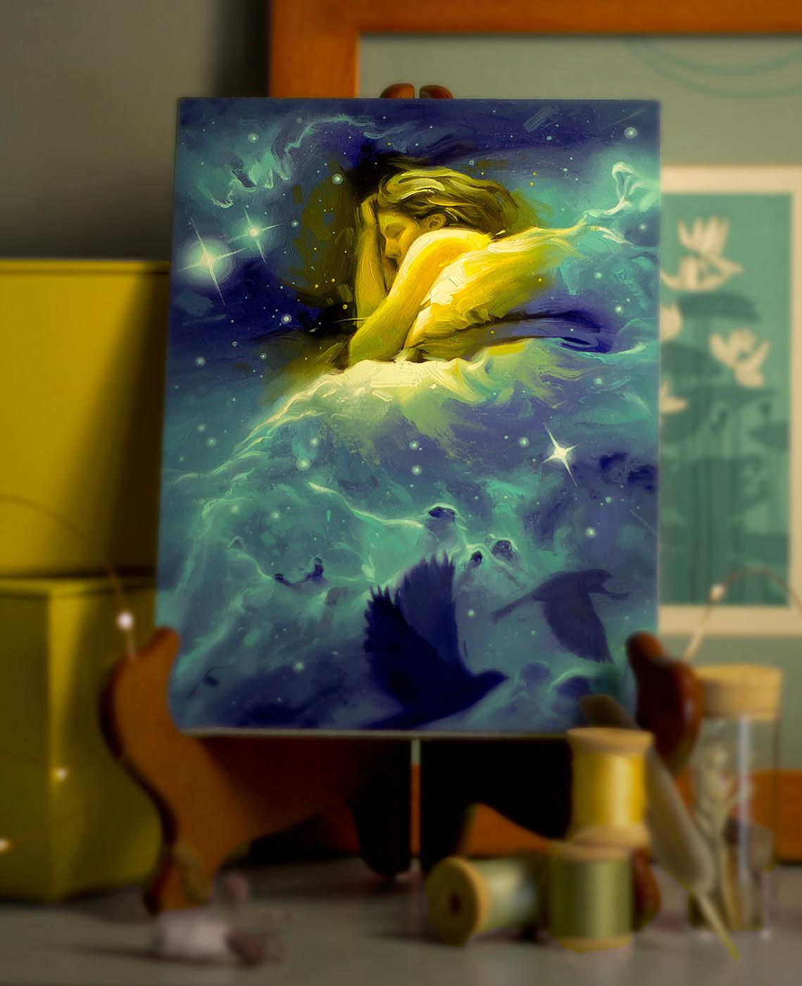 Nestled In The Nebulae by Rob Rey