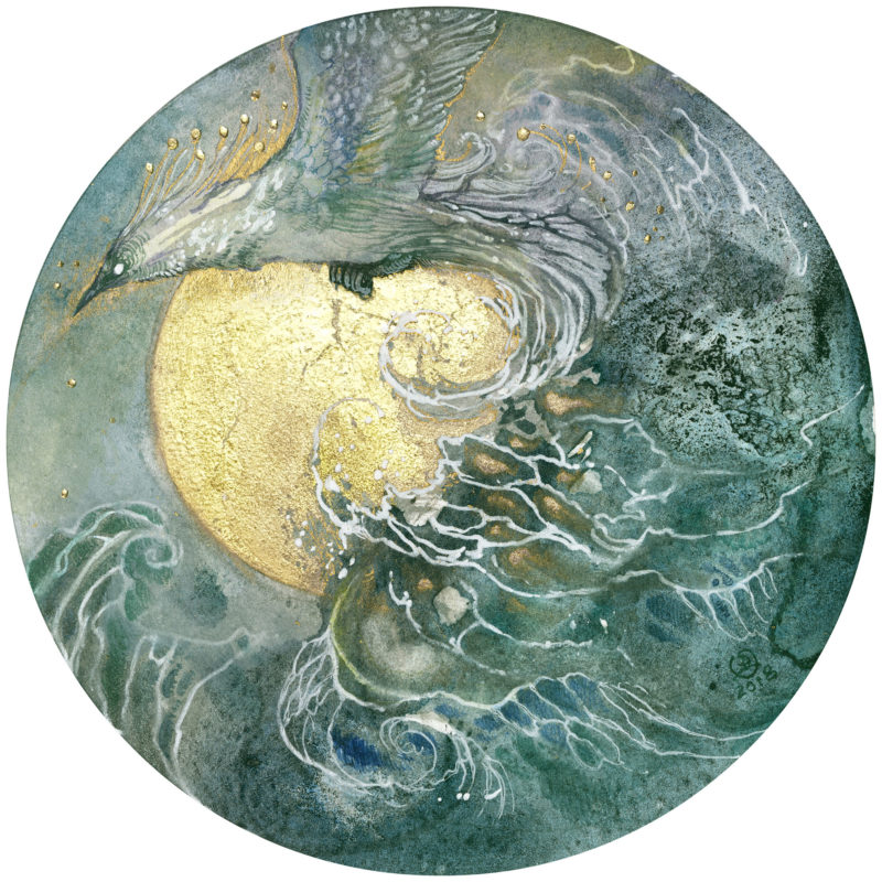 Sun and Sea Foam by Stephanie Law