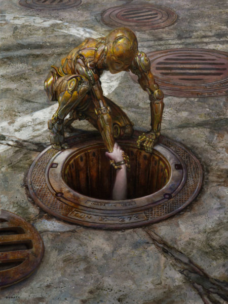 Reach Donato Giancola Empathetic Robot