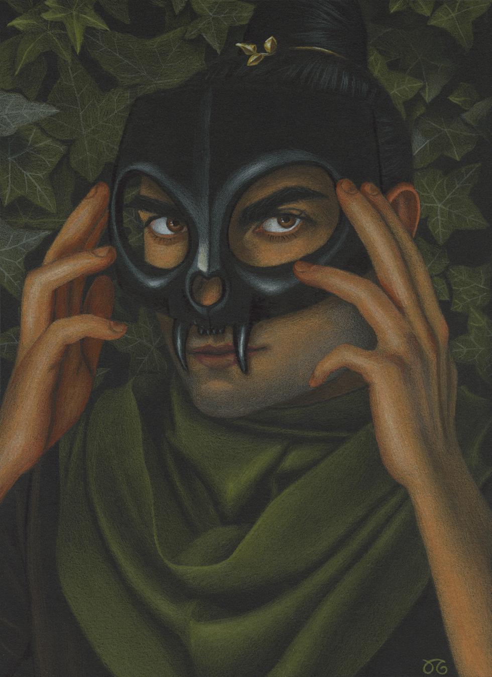 Masquerade Comic Art
