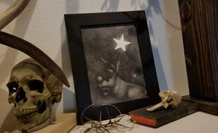 Allen Williams Child of a broken Star frame