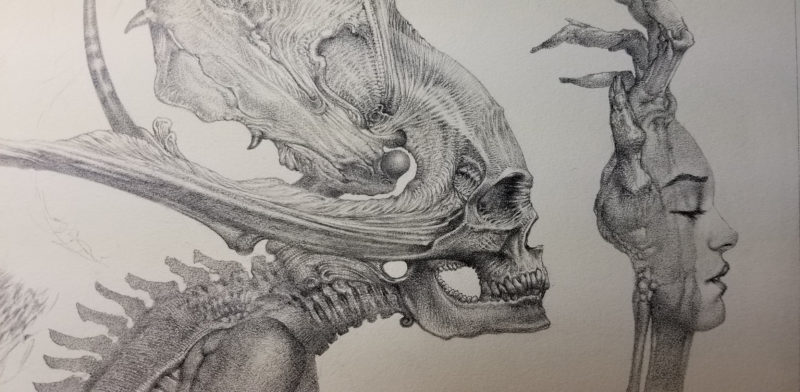 Allen Williams Original pencil piece