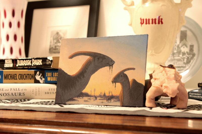 """Parasaurolophus"" display"
