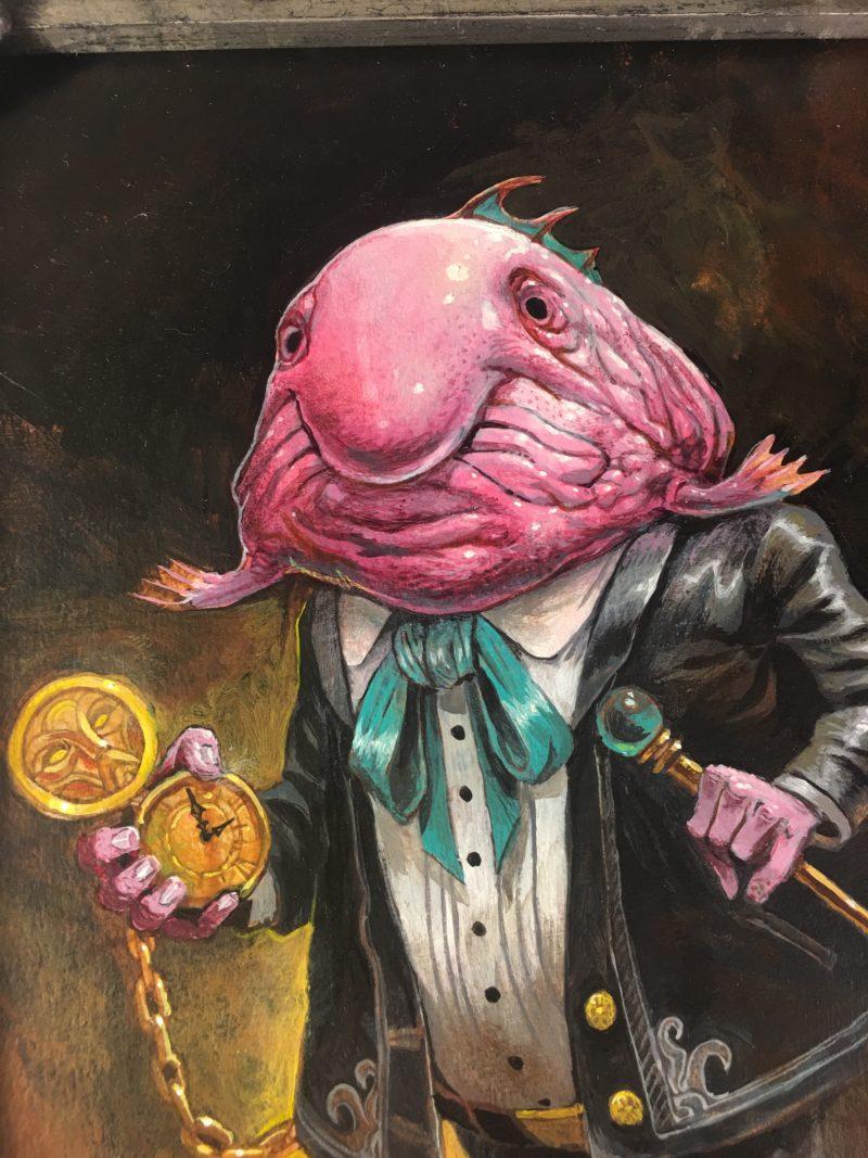 """Sir Reginald De Blobfish"" by Sean Andrew Murray"