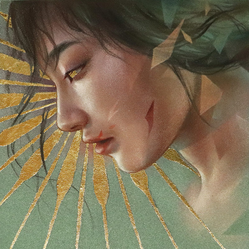"""The Girl With The Sun In Her Head"" - By Maria Björnbom Öberg"