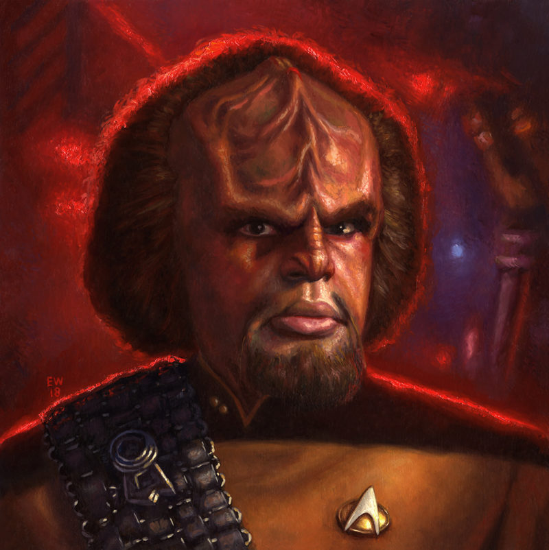 Worf Final painting