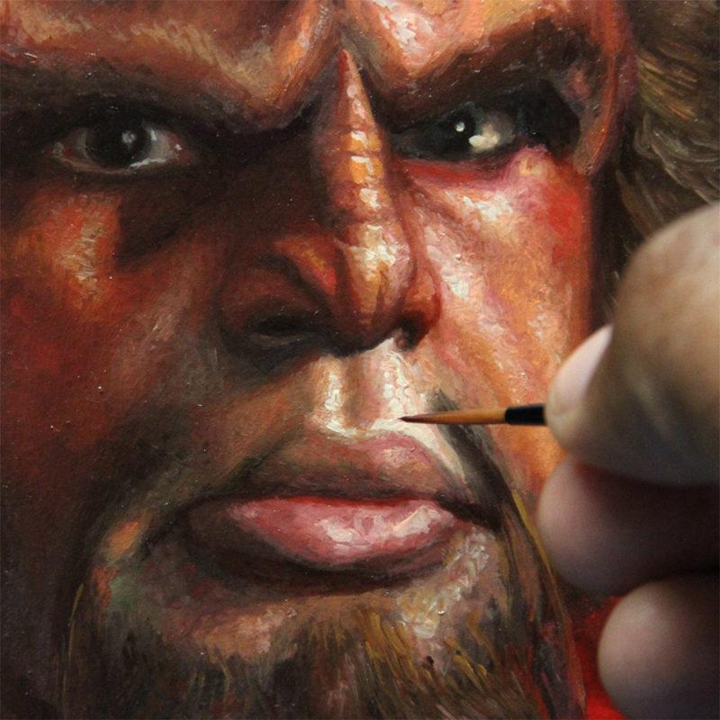 Portrait detail - Eric Wilkerson