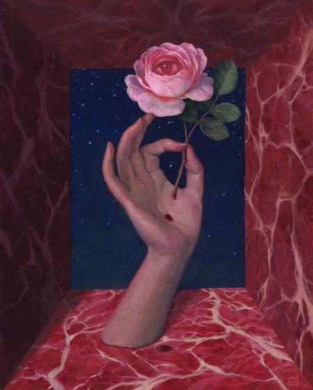 """Ocula Rosa"" - by Kristin Kwan"