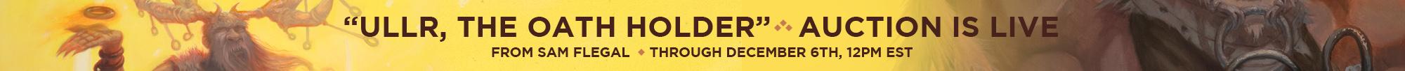 Sam Flegal Oath Holder auction banner homepage