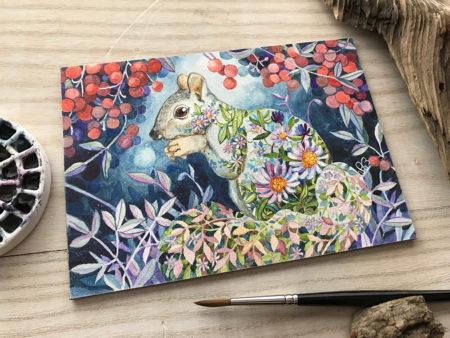 """""""Wiewiórka"""" by Ania Mohrbacher"""