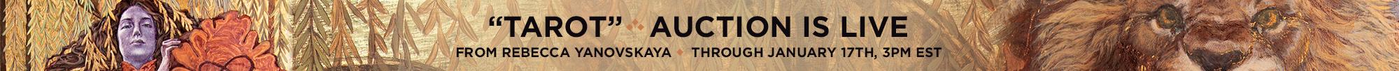 Rebecca Yanovskaya EDO Auction homepage banner