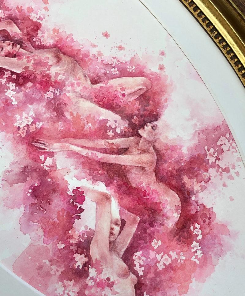 Iris Compiet Auction Every Day Original - Le Sacre du printemps The Rite of Spring