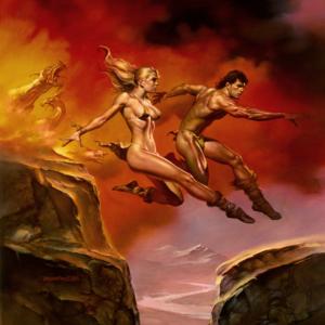 Boris Vallejo - Jumping- EDO Auctions - Every Day Original