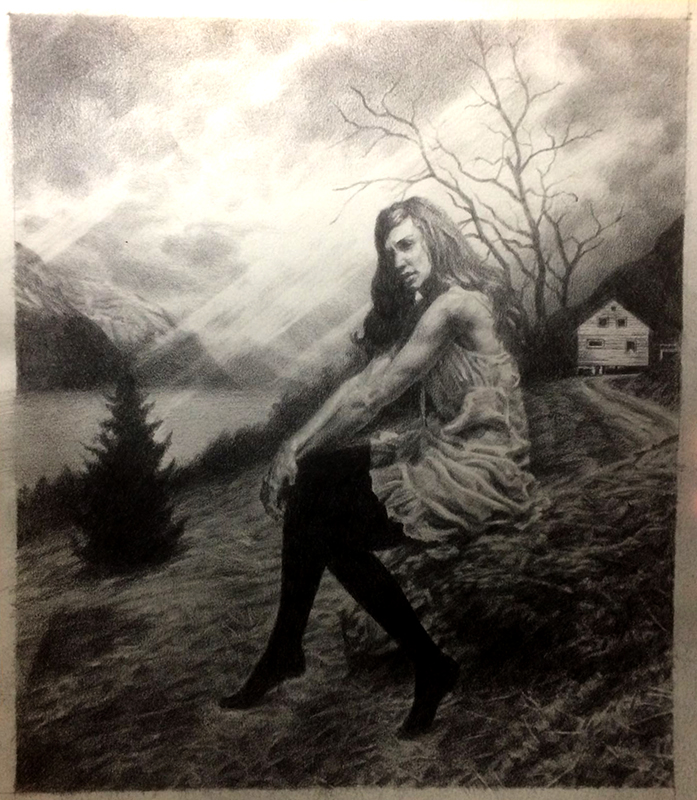 """Norwegian Gothic"" by Billy Norrby"