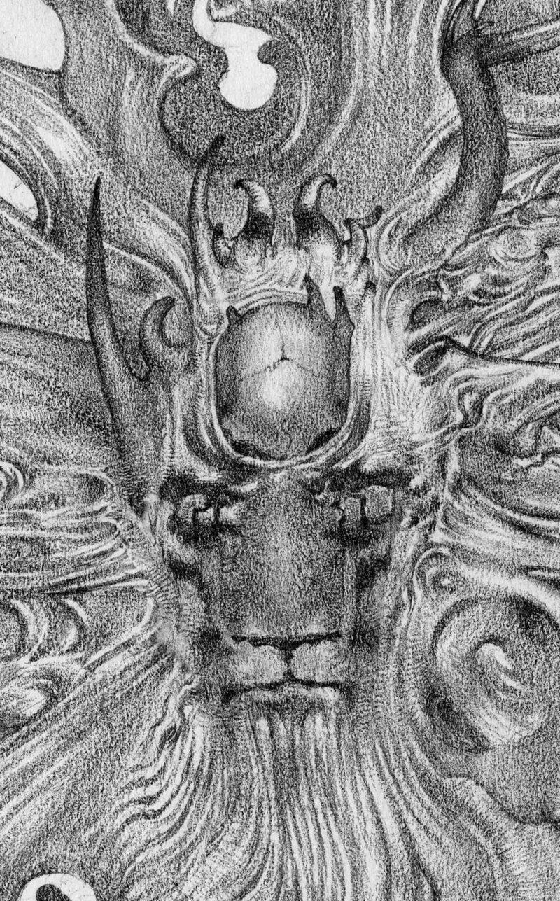 Allen Williams Manticore Detail 1